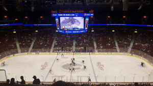 Vancouver Canucks vs Pittsburgh Penguin -Sat Oct 27- Center Ice