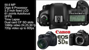 BRAND NEW CANON EOS 5DS