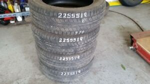 Set of 4 General Altimax RT43 225/55R19 tires (70% tread life)