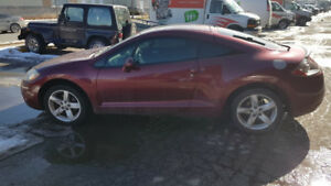 2007 Mitsubishi Eclipse GS Coupe (2 door) WITH ROOF AND AUTO