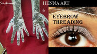 Specialized in EyebrowsThreading&Henna Tattoo DownTown in HFX