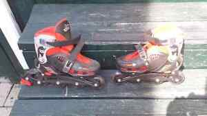 ICE SKATES / ROLLER BLADES (2 IN 1) Cornwall Ontario image 2