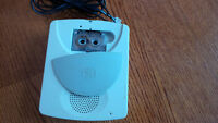 GE telephone answer machine with record tape