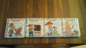 Lot de 4 livres de P'tite Fille (Collection Fleurus)