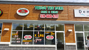Franchise Pizza Store for sale with Very good Income