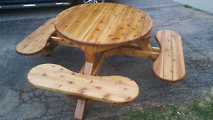 Picnic, Patio tables/sets, swing benches Order today