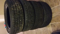 SET 4 SEMINEW WINTER TIRES 205/60 R15