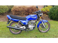 Sanya 125 Learner motorcycle PX Swap UK Delivery