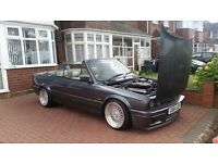 1990 G BMW E30 325i CONVERTIBLE MAY CONSIDER M3 CADDY 330D AUDI TYPE R GOLF GTI EVO RECOVERY TRUCK