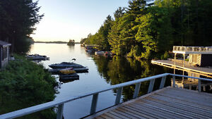 A dream vacation on Lake Muskoka