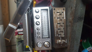 8 track pioneer stereo and equalizer