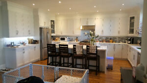 New Large White Kitchen for Sale