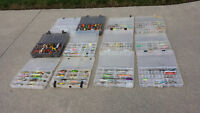 HUNDREDS OF FISHING LURES