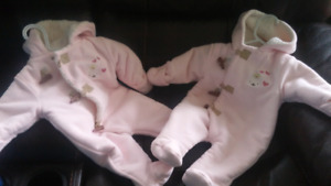 3 month snowsuits