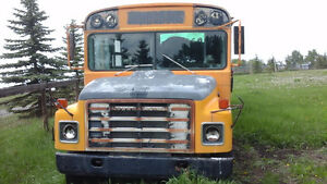 1981 School Bus Ready for your next project.