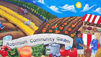 Volunteers needs for Community Garden- Individuals, Groups
