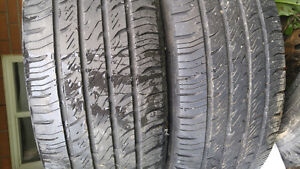 205/60R16 Hankook Optima all season tires. Only 2 tires left.