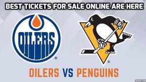 GRAB ★★ Edmonton Oilers vs. Pittsburgh Penguins WED Nov 1  ★★
