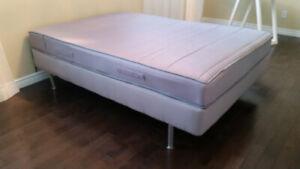 IKEA full mattress and base