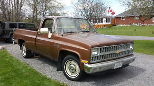 1981 Chevrolet Scottsdale edition Pickup Truck Kingston Kingston Area image 1