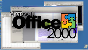 Microsoft Office 2000 (only 3 left!!) Cambridge Kitchener Area image 1