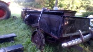 Truck Snow Plow 7' with harness and pump $400,