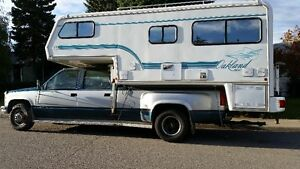 1993 Chevy One Ton and 1996 Oakland Bigfoot Camper