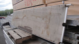 """Used 10' x 19"""" aluminum deck for $89.00 each!"""