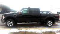 2008 Ford F-350 CREW FX-4, LEATHER/SUNROOF, POWERSTROKE DIESEL