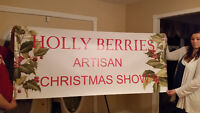 Vendors wanted - Holly Berries Artisan Christmas Show