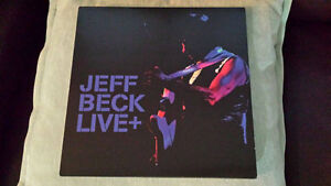 JEFF BECK DOUBLE GATEFOLD LIVE VINYL ! BRAND NEW !