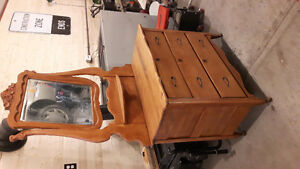 Antique Knechtel furniture company dresser for sale Peterborough Peterborough Area image 3