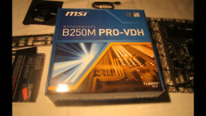MSI 250M PRO-VDH motherboard for sale