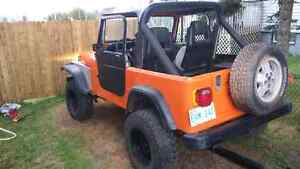 1989 jeep wrangler yj 1000 if gone by weekend