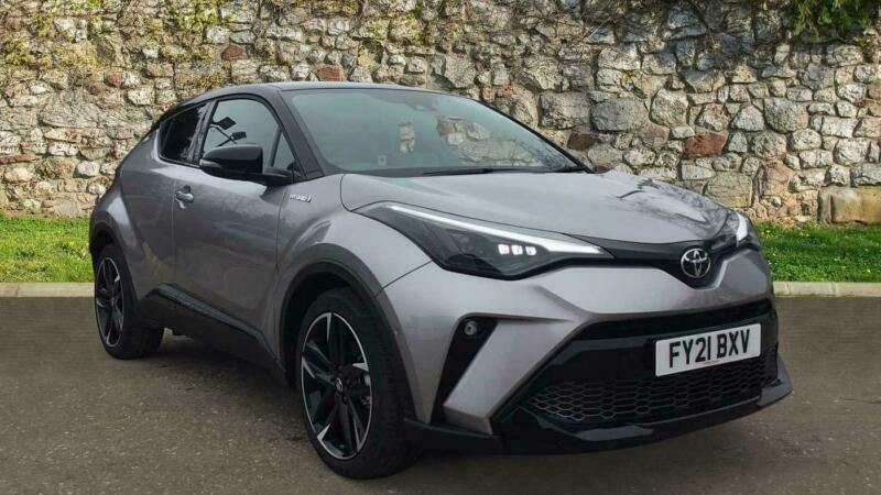 2021 Toyota C-HR HATCHBACK 1.8 Hybrid GR Sport 5dr CVT Auto SUV Petrol/Electric