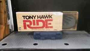 Tony Hawk ride skateboard and game for the wii