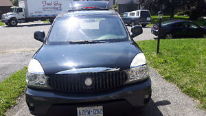 2004 Buick Rendezvous Grey Leather SUV, Crossover