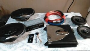 CAR STEREO BUNDLE 4 SALE