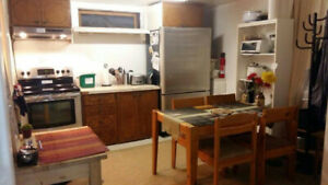 Now or March 1st - Nice clean furn. room in basement suite