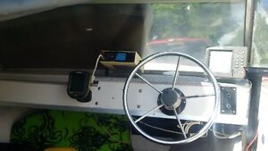 15' Fibreglass Boat with 50hp Envinrude and trailer Stratford Kitchener Area image 5