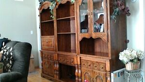 Beautiful 3-pc wall unit for sale