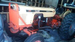 Tracteur Case 430 1969  avec souffleuse