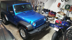 2015 Jeep Wrangler Sport low KM