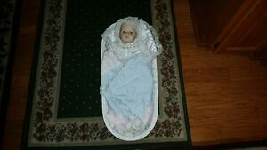 PORCELAIN BABY DOLL from BRADFORD EXCHANGE
