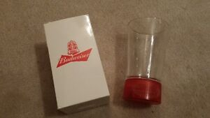 Budweiser Red Light Glass
