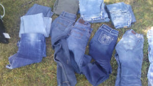Various items of clothing for sale!    From $5.00