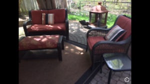 Patio Set with Recliner