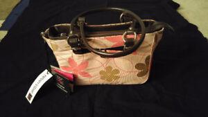 Miche multi option purse. Pink/brown.