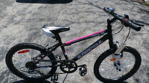 """20"""" Girls Supercycle, Helmet, and Lock"""
