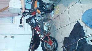 Honda 70cc dirtbike